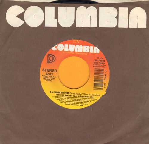 C & C Music Factory - Here We Go (the Rock & Roll Radio Mix)/Here We Go (The R&B Radio Mix) (PARTY FAVORITE!) - NM9/ - 45 rpm Records