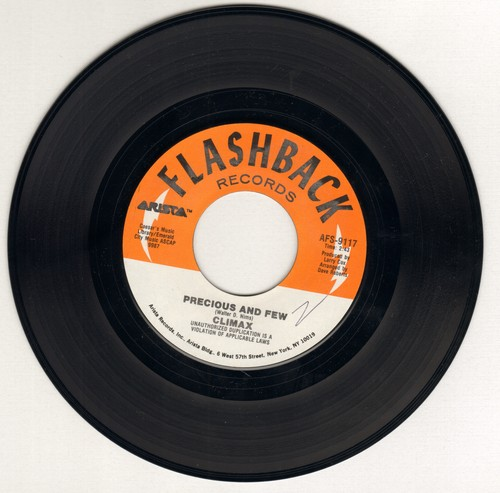 Climax - Precious And Few/Life And Breath (double-hit re-issue) - EX8/ - 45 rpm Records