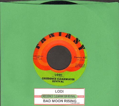 Creedence Clearwater Revival - Lodi/Bad Moon Rising - VG7/ - 45 rpm Records