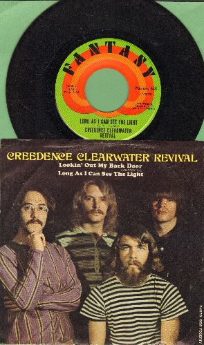 Creedence Clearwater Revival - Long As I Can See The Light/Lookin' Out My Back Door - NM9/EX8 - 45 rpm Records