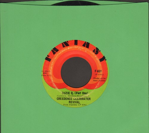 Creedence Clearwater Revival - Suzie Q. (Parts 1 + 2) (with juke box label) - EX8/ - 45 rpm Records