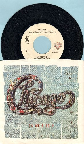 Chicago - 25 Or 6 To 4/One More Day (with picture sleeve) - NM9/EX8 - 45 rpm Records