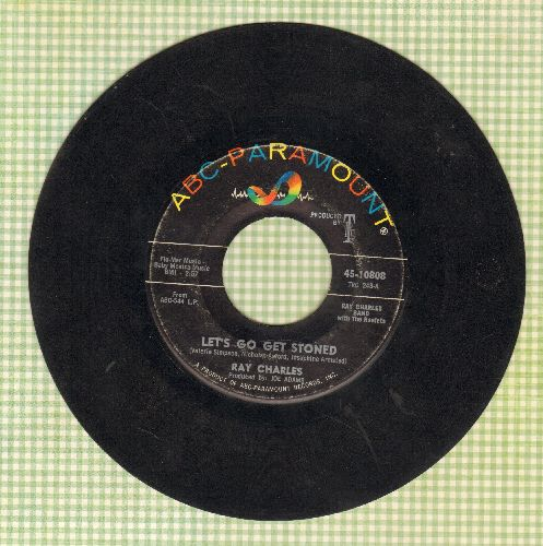 Charles, Ray - Let's Go Get Stoned/The Train - VG6/ - 45 rpm Records