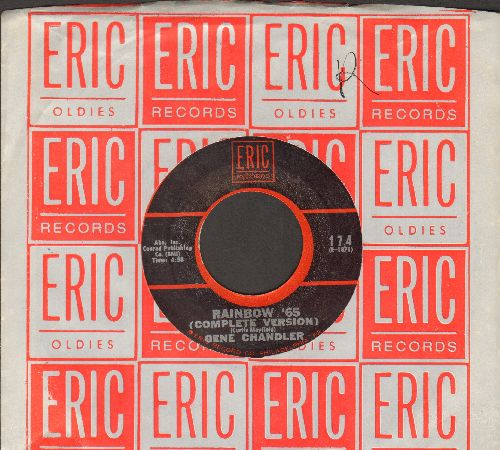 Chandler, Gene - Rainbow '65/What Now? (re-issue with Eric company sleeve) - NM9/ - 45 rpm Records