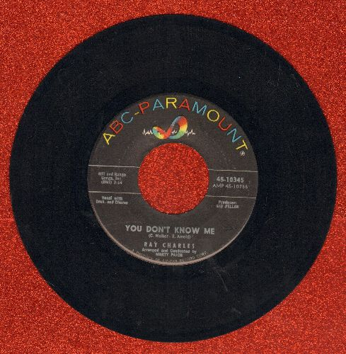 Charles, Ray - You Don't Know Me/Careless Love  - NM9/ - 45 rpm Records
