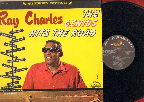 Charles, Ray - The Genius Hits The Road: Georgia On My Mind, California Here I Come, Deep In The Heart Of Texas, Blue Hawaii, Basin Street Blues (vinyl STEREO LP record) - NM9/EX8 - LP Records