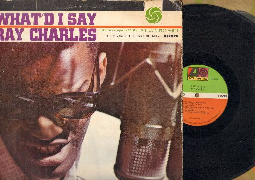 Charles, Ray - What'd I Say: My Bonnie, Roll With My Baby, Rockhouse (Parts 1 + 2), That's Enough (vinyl STEREO LP record, 1970s pressing) - EX8/VG6 - LP Records