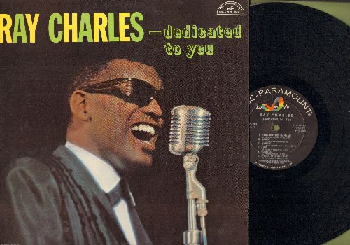 Charles, Ray - Dedicated To You: Hardheaded Hannah, Nancy, Ruby, Marie, Sweet Georgia Brown (Vinyl MONO LP record, NICE condition!) - EX8/EX8 - LP Records