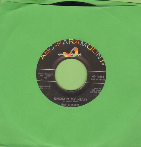 Charles, Ray - Unchain My Heart/But On The Other Hand Baby (wol) - EX8/ - 45 rpm Records