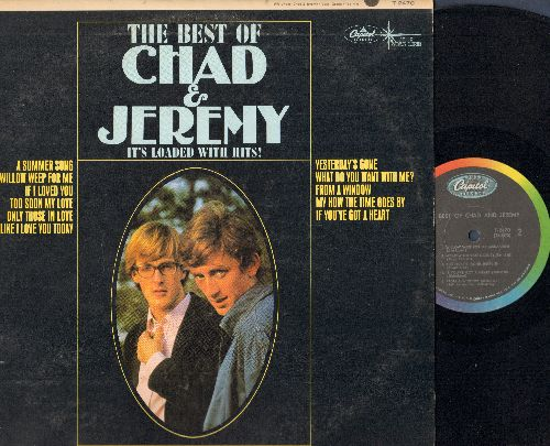 Chad & Jeremy - The Best Of: A Summer Song, If I Loved You, Yesterday's Gone, Willow Weep For Me (Vinyl MONO LP record) - NM9/EX8 - LP Records