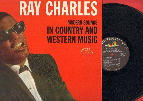 Charles, Ray - Modern Sounds In Country And Western Music: I Can't Stop Loving You, Bye Bye Love, Half As Much, Hey Good Lookin', Born To Lose (Vinyl MONO LP record) - EX8/EX8 - LP Records