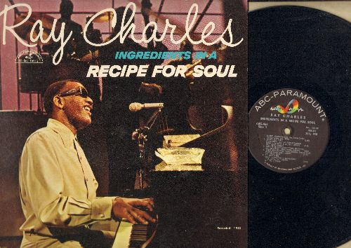 Charles, Ray - Ingredients In A Recipe For Soul: Ol' Man River, Busted, Over The Rainbow, You'll Never Walk Alone (Vinyl MONO LP record) - EX8/EX8 - LP Records