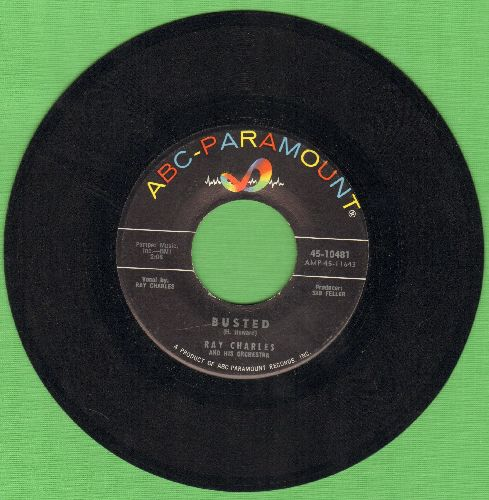 Charles, Ray - Busted/Making Believe  - EX8/ - 45 rpm Records
