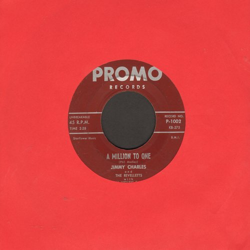 Charles, Jimmy  - A Million To One/Hop Scotch Hop (first pressing) - EX8/ - 45 rpm Records