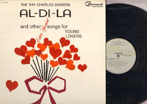 Charles, Ray Singers - Al-Di-La and other extra special songs for Young Lovers: The Girl From Ipanema, Do You Want To Know A Secret, Satin Doll (vinyl STEREO LP record, gate-fold cover) - NM9/NM9 - LP Records
