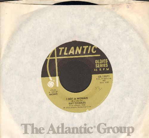 Charles - I Got A Woman/Heartbreaker (double-hit re-issue) - NM9/ - 45 rpm Records