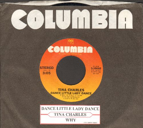 Charles, Tina - Dance Little Lady Dance/Why (with juke box label and Columbia company sleeve) - NM9/ - 45 rpm Records