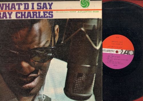 Charles, Ray - What'D I Say: My Bonnie, Roll With My Baby, Rockhouse (Parts 1 + 2), That's Enough (vinyl MONO LP record, 1959 first pressing) - VG7/VG7 - LP Records