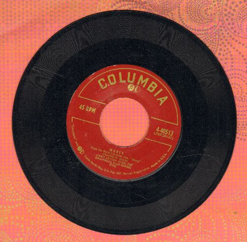 Leyden, Jimmy & Chappaqua High School Kids - Marty (from Oscar Winning Film -Marty-)/East Side, Weast Side (In The Good Old U.S.A.) - VG7/ - 45 rpm Records