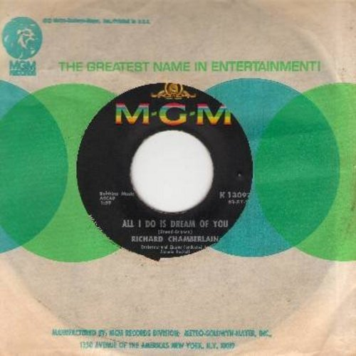 Chamberlain, Richard - Love Me Tender/All I Do Is Dream Of You (with MGM company sleeve) - EX8/ - 45 rpm Records