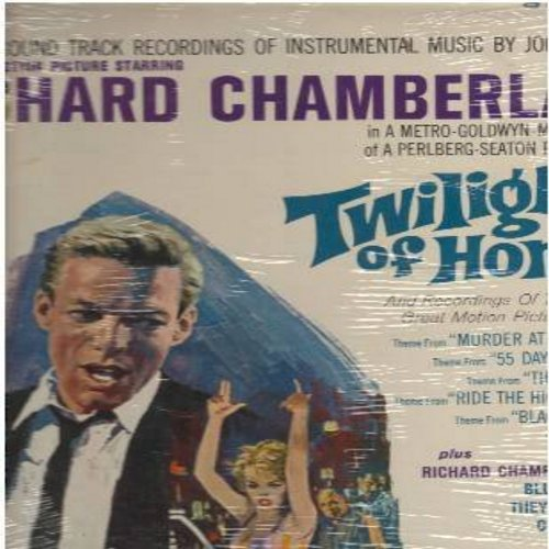 Chamberlain, Richard - Twilight of Honor: Featuring 2 Richard Chamberlain songs, Murder At The Gallop (The 1964 'Miss Marple' Series Theme), The Haunting and others. Great RC cover pic! (Vinyl STEREO LP record, SEALED, never opened! GREAT as a gift!) - SE