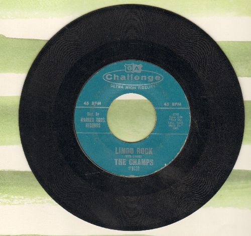 Champs - Limbo Rock/Tequila Twist  - EX8/ - 45 rpm Records