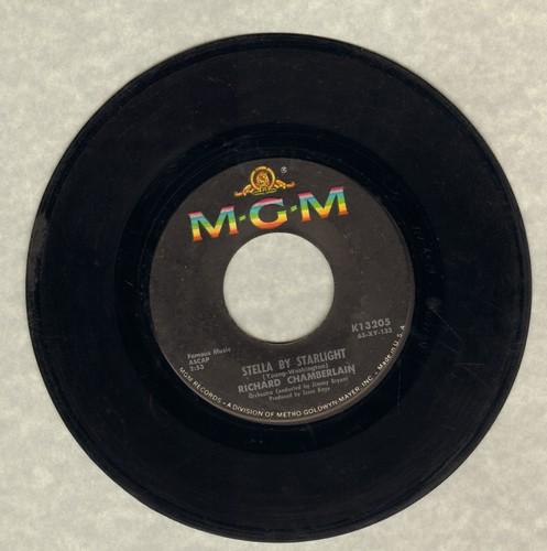 Chamberlain, Richard - Georgia On My Mind/Stella By Starlight  - VG7/ - 45 rpm Records