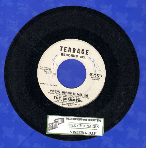 Charmers - Whatever Happened To Baby Jane/Visiting Day (DJ advance pressing with juke box label) - NM9/ - 45 rpm Records