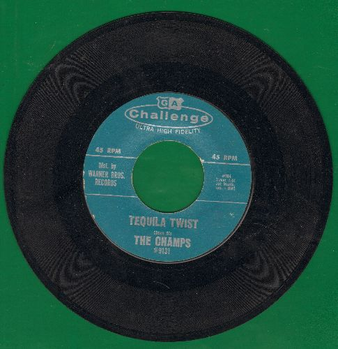 Champs - Limbo Rock/Tequila Twist  - VG7/ - 45 rpm Records