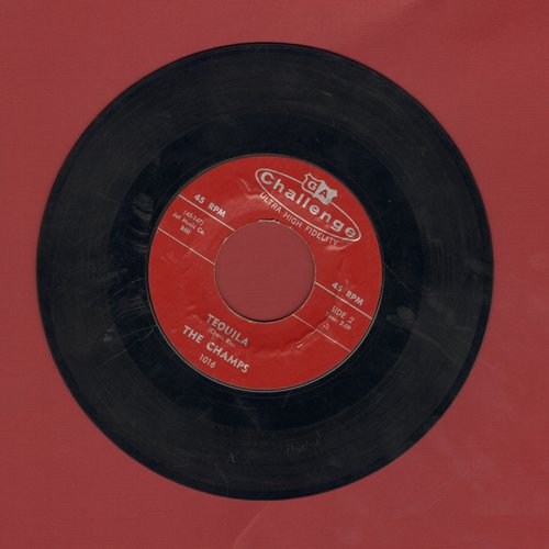 Champs - Tequila/Train To Nowhere - EX8/ - 45 rpm Records