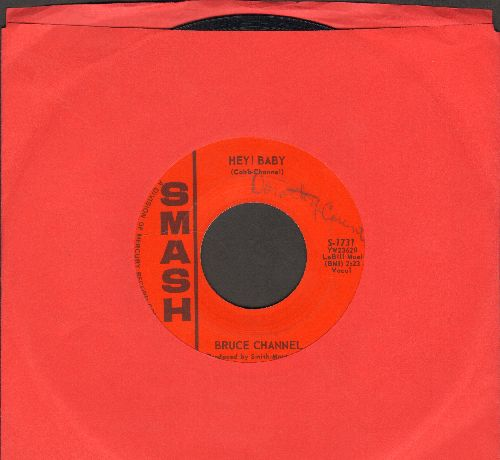 Channel, Bruce - Hey! Baby/Dream Girl  - EX8/ - 45 rpm Records