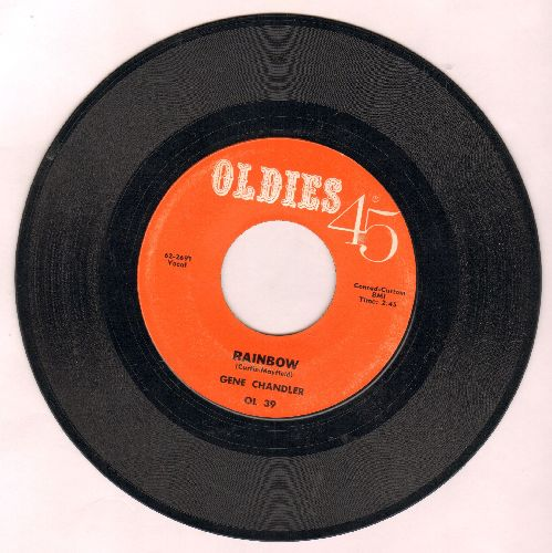 Chandler, Gene - Rainbow/You Threw A Lucky Punch (early double-hit re-issue) - EX8/ - 45 rpm Records