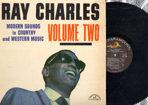 Charles, Ray - Modern Sounds In Country and Western Music Vol. 2: You Are My Sunshine, Your Cheating Heart, Oh Lonesome Me, Teardrops In My Heart (vinyl MONO LP record) - EX8/EX8 - LP Records