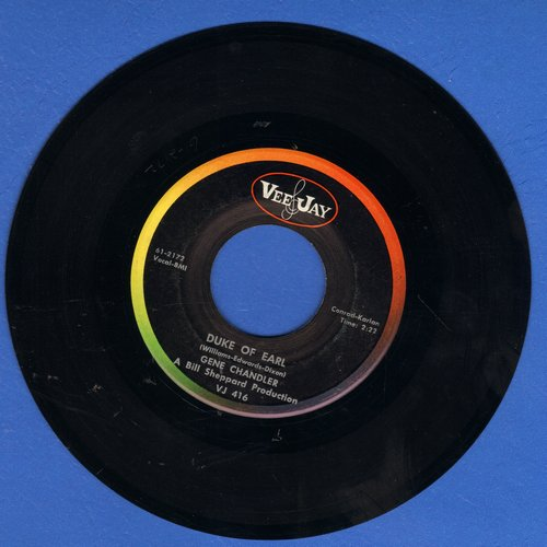 Chandler, Gene - Duke Of Earl/Kissin' In The Kitchen  - VG7/ - 45 rpm Records