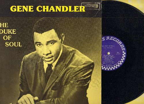 Chandler, Gene - The Duke Of Soul: Duke Of Earl, Rainbow '65, Bless Our Love, Tear For Tear, Just Be True (Vinyl LP record, PROMO Pressing re-issue) - NM9/EX8 - LP Records