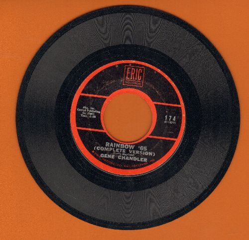 Chandler, Gene - Rainbow '65 (Complete Version)/What Now? (double-hit re-issue) - NM9/ - 45 rpm Records