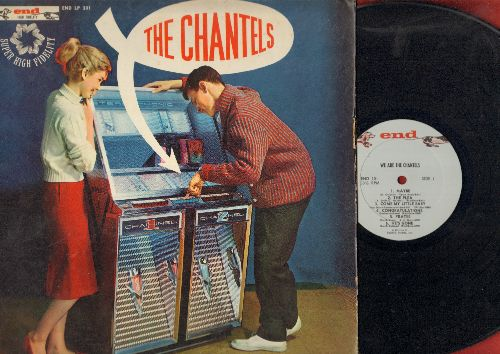 Chantels - The Chantels: Maybe, The Plea, He's Gone, I Love You So, Sure Of Love (Vinyl LP record - RARE originail first pressing without 1962 in trail-off. The condition of vinyl and cover are barely acceptable, still this is a one-time chance of owning