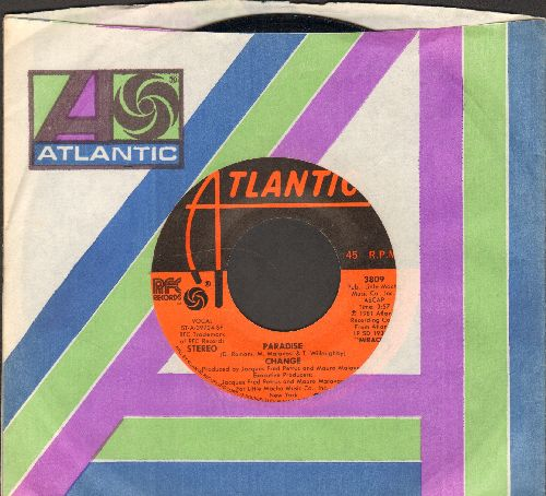 Change - Paradise/Your Move (with Atlantic company sleeve) - EX8/ - 45 rpm Records