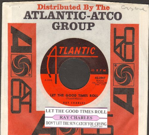 McCrae, George - Kiss Me (The Way I Like It) (Parts 1 + 2)(MINT condition DJ advance pressing with TK company sleeve) - M10/ - 45 rpm Records