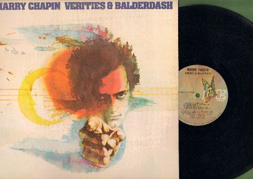 Chapin, Harry - Varities & Balderdash: Cat's In The Cradle, What Made America Famous?, Vacancy, Halfway To Heaven (Vinyl STEREO LP record) - NM9/EX8 - LP Records