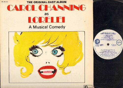 Channing, Carol - Carol Channing As Lorelei - A Musical Comedy: Diamonds Are A Girl's Best Friend, Bye Bye Baby, A Little Girl From Little Rock (Vinyl STEREO LP record, DJ advance pressing) - NM9/EX8 - LP Records