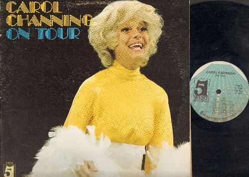 Channing, Carol - Carol Channing On Tour: Bye Bye Baby, Diamonds Are A Girl's Best Friend, Somehwere There's A Little Bluebird (vinyl STEREO LP record) - NM9/EX8 - LP Records
