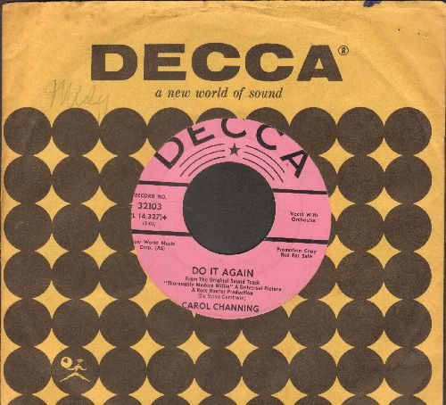 Channing, Carol - Do It Again/Jazz Baby (from film -Thoroughly Modern Millie-) (DJ advance copy with Decca company sleeve) - NM9/ - 45 rpm Records