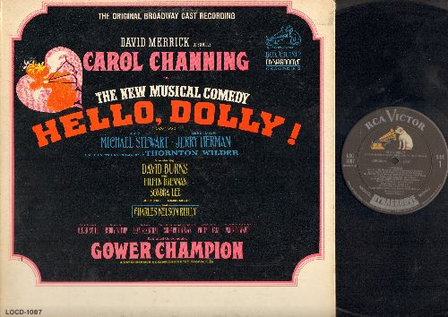 Channing, Carol - Hello, Dolly! - A New Broadway Comedy (vinyl LP record, gate-fold cover) - NM9/EX8 - LP Records