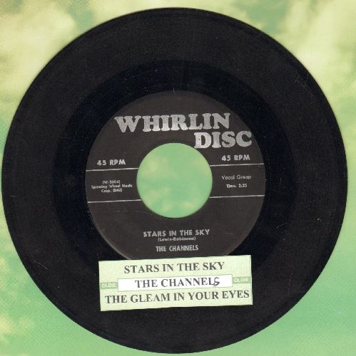 Channels - Star In The Sky/The Gleam In Your Eyes (fRARE first pressing with juke box label) - VG7/ - 45 rpm Records