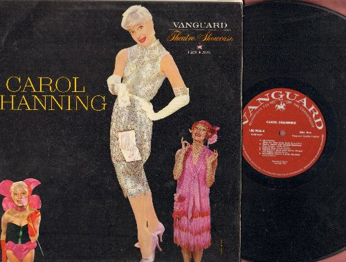 Channing, Carol - Carol Channing: Bye Bye Baby, Diamonds Are A Girl's Best Friend, Sophie Tucker and Tallulah Bankhead Give Advice (vinyl STEREO LP record) - NM9/VG7 - LP Records
