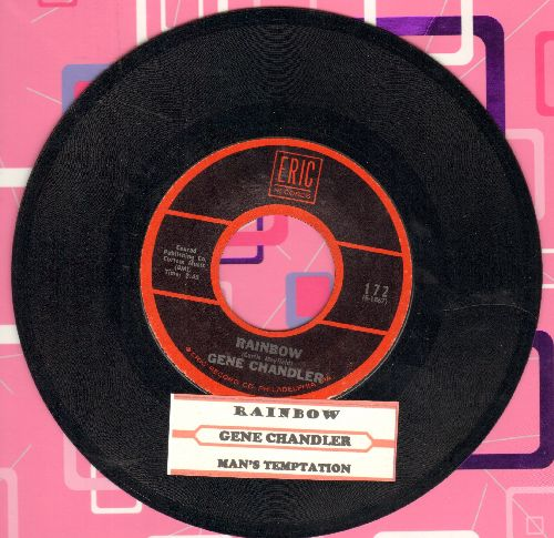 Chandler, Gene - Rainbow/Man's Temptation (re-issue with juke box label) - NM9/ - 45 rpm Records