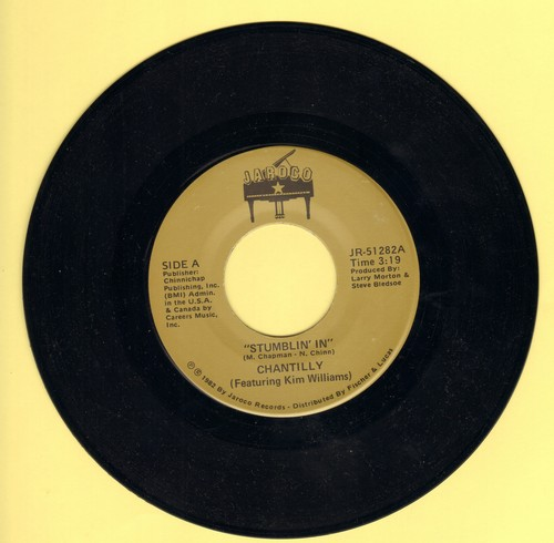 Chantilly (Featuring Kim Williams) - Stumblin' In (VERY NICE Country-Version of the Suzi Quatro & Chris Norman Hi!t)/Better Off Blue - NM9/ - 45 rpm Records