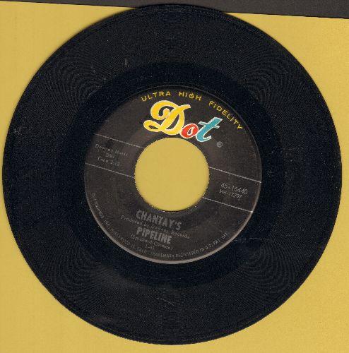 Chantay's - Pipeline/Move It  - EX8/ - 45 rpm Records