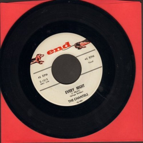 Chantels - Every Night/Whoever You Are (white label!) - VG7/ - 45 rpm Records